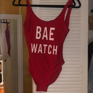 Bae Watch NEVER WORN swim suit
